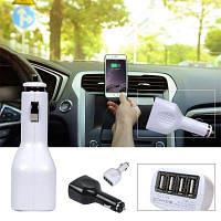 5В 2.1A 4 Порта зарядка USB автомобильный прикуриватель автомобильное зарядное устройство автомобильный адаптер питания для смартфона и планшетных ПК