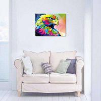 Современный Рисунок Орла Без Рамы Декоративные Холст Печать Разноцветный