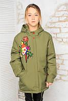 Стильная демисезонная куртка весна-осень для девочки 34, 36, 38, 40, 42 размер.Детская верхняя одежда!