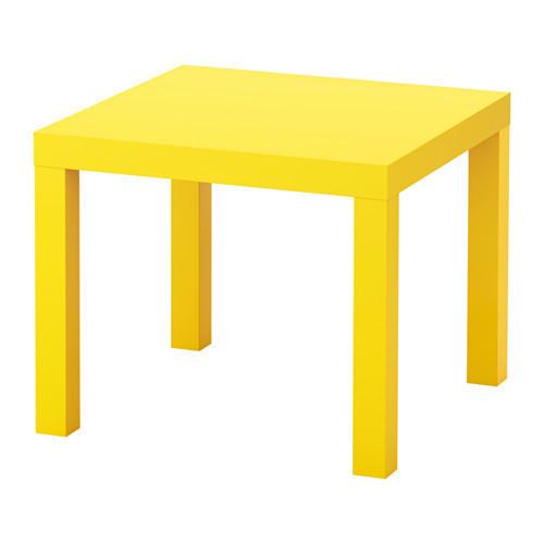 ЛАКК Придиванный столик, желтый, 10324278, ИКЕА, IKEA, LACK