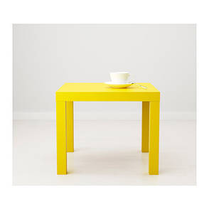 ЛАКК Придиванный столик, желтый, 10324278, ИКЕА, IKEA, LACK, фото 2