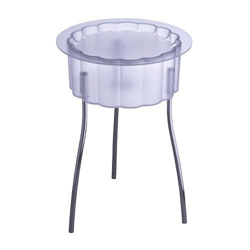 ХАТТЭН Столик придиванный, прозрачный, ИКЕА, IKEA, 40116188, HATTEN