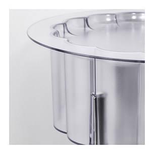 ХАТТЭН Столик придиванный, прозрачный, ИКЕА, IKEA, 40116188, HATTEN, фото 2