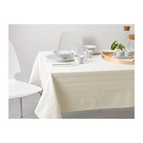 КАЯ Скатерть белая, 145х240, 80210787, ИКЕА, IKEA, KAJA, фото 2