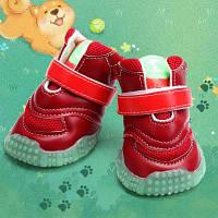 Lovoyager VB1024 Противоскользящая светящаяся обувь для собак для осени зимы XL