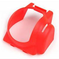 Пластиковый Капот Объектив Камеры Красный