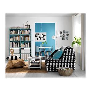 ТИНГБИ стол приставной на колесах, белый, 20295930, ИКЕА, IKEA, TINGBY , фото 2