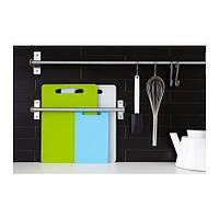 ЛЕГИТИМ Набор разделочных досок, 2 штуки, зеленый, синий, 30153124, ИКЕА, IKEA, LEGITIM