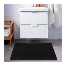 БАДАРЕН, Коврик для ванной, черный, 20345987, ИКЕА, IKEA, BADAREN, фото 3