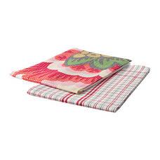 ИНБЬЮДАНДЕ Полотенце кухонное, цветок, квадраты, 50x70 см, 70286834, ИКЕА, IKEA, INBJUDANDE, фото 2