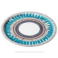 ОФФЕНТЛИГ Поднос, с рисунком разноцветный, 43 см, 30236247, ИКЕА, IKEA, OFFENTLIG