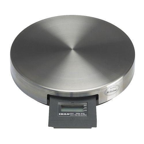 ОРДНИНГ Весы, нержавеющая сталь, 3 кг, 90100057, ИКЕА, IKEA, ORDNING