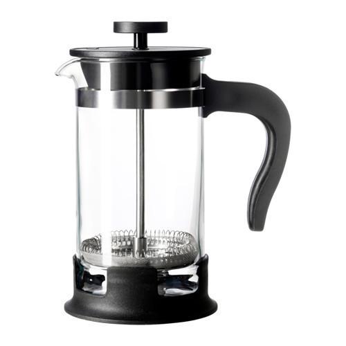 УПХЕТТА Кофе-пресс/заварочный чайник, стекло, нержавеющая сталь, 00297