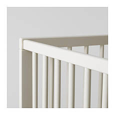 ГУЛЛИВЕР Кроватка детская, белый, 10248519, IKEA, ИКЕА, GULLIVER, фото 2