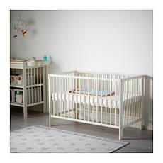 ГУЛЛИВЕР Кроватка детская, белый, 10248519, IKEA, ИКЕА, GULLIVER, фото 3