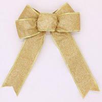 Рождественская декоративная тесьма Золотой