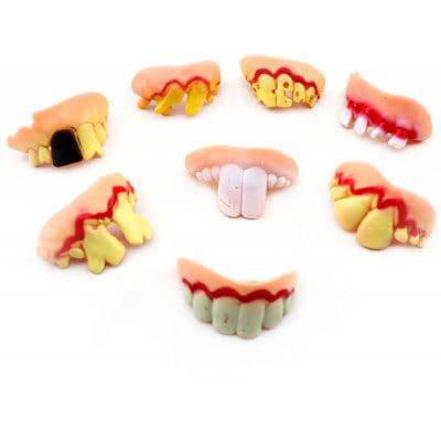 Смешной игрушечный протез челюсти игрушка для Хэллоуина 1шт - Случайный Цвет Шабло, фото 2