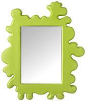 БАРНСЛИГ Зеркало, зеленый, 44x53 см, 90134528, ИКЕА, IKEA, BARNSLIG