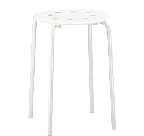МАРИУС Табурет, белый, 90184047, ИКЕА, IKEA, MARIUS
