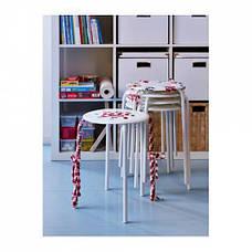 МАРИУС Табурет, белый, 90184047, ИКЕА, IKEA, MARIUS, фото 3