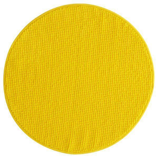 БАДАРЕН Коврик для ванной, желтый, 40311613, ИКЕА, IKEA, BADAREN