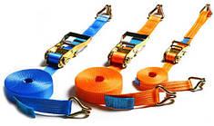 Стяжные и буксировочные ремни, комплектующие к ним.