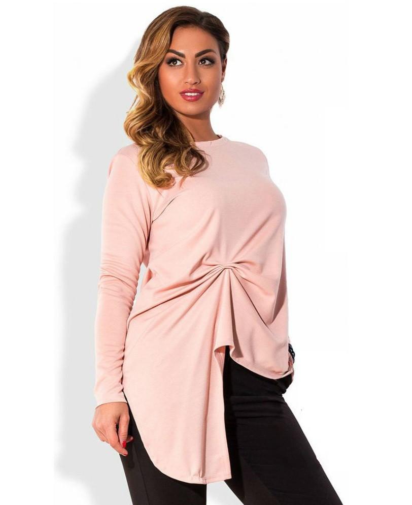 Уникальная розовая кофта из французского трикотажа 1032