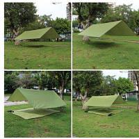 Открытая палатка Зеленый армейский