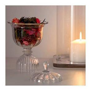 КОНСТНЭРЛИГ Цветочная отдушка в стекляной чаше, 30285841, ИКЕА, IKEA, KONSTNARLIG  , фото 2