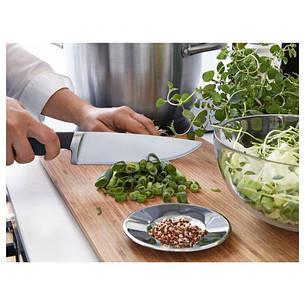 ВЕРДА  Нож поварской, черный, 17 см, 80289243, ИКЕА, IKEA, VORDA  , фото 2