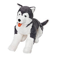 ЛИВЛИГ  Мягкая игрушка, собака хаски, 40297990, ИКЕА, IKEA, LIVLIG