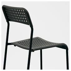 АДДЕ Стул, черный, 90214285, ИКЕА, IKEA, ADDE , фото 3