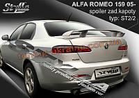 Спойлер для Alfa Romeo 159 2005-2011
