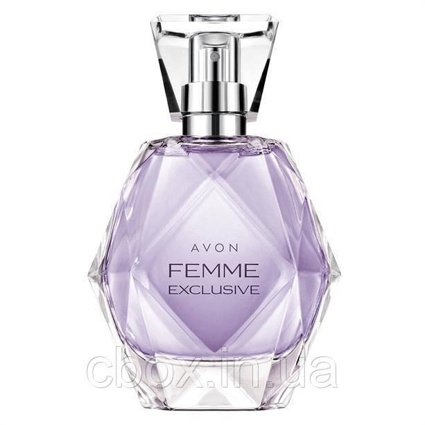 Парфюмерная вода женская Femme Exclusive, Avon, Фэм Эксклюзив, Эйвон, 50 мл, 32676