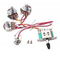 5-позиционный переключатель 250к жгут проводов звукоснимателя гитары 41689