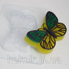 Пластиковый молд для шоколада Бабочка