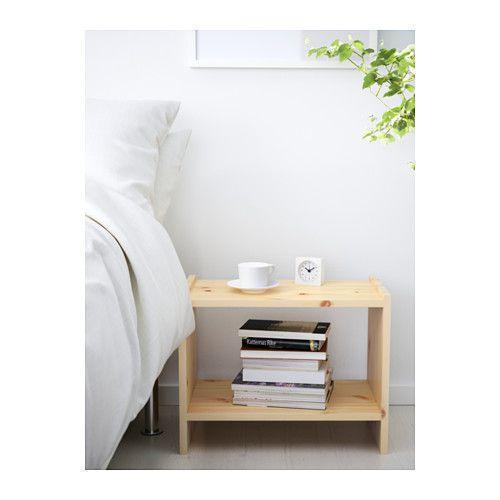 РАСТ  Тумба прикроватная, сосна, 44361109, ИКЕА, IKEA, RAST