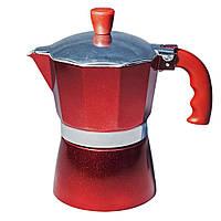 Гейзерная кофеварка Con Brio СВ-6203 на 3 чашки кофе 150мл