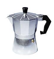 Гейзерная кофеварка Con Brio СВ-6103 на 3 чашки кофе 150мл