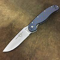 Нож Ontario Rat 1 Carbon D2 (Replica) Синий