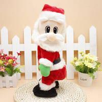 Электрический Санта-клаус с музыкой для рождественского украшения Цветной