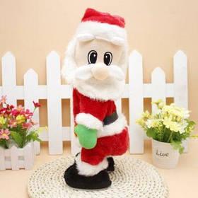 Электрический Санта-клаус с музыкой для рождественского украшения - Цветной