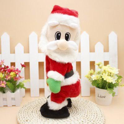 Электрический Санта-клаус с музыкой для рождественского украшения Цветной - ➊ТопШоп ➠ Товары из Китая с бесплатной доставкой в Украину! в Киеве
