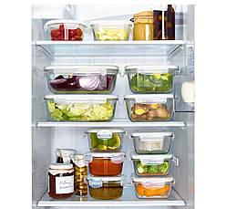 ФЁРТРОЛИГ Контейнер, прозрачное стекло, 50233790, ИКЕА, IKEA, FORTROLIG , фото 2