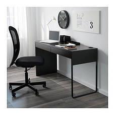 МИККЕ  Письменный стол, черно-коричневый, 60244745, ИКЕА, IKEA, MICKE , фото 2