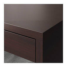 МИККЕ  Письменный стол, черно-коричневый, 60244745, ИКЕА, IKEA, MICKE , фото 3