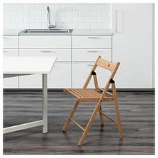 ТЕРЬЕ  Стул складной, бук,  64833108, ИКЕА, IKEA, TERJE , фото 3