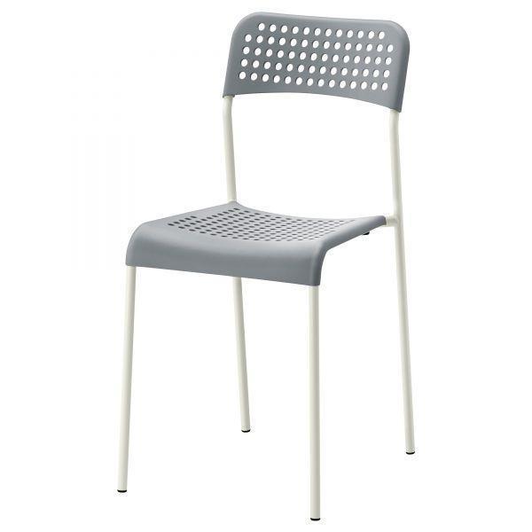 АДДЕ Стул, серый, 10225928 , ИКЕА, IKEA, ADDE