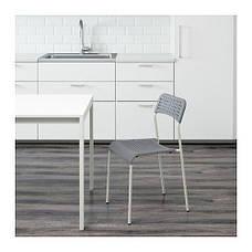 АДДЕ Стул, серый, 10225928 , ИКЕА, IKEA, ADDE , фото 2