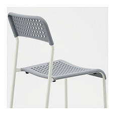 АДДЕ Стул, серый, 10225928 , ИКЕА, IKEA, ADDE , фото 3